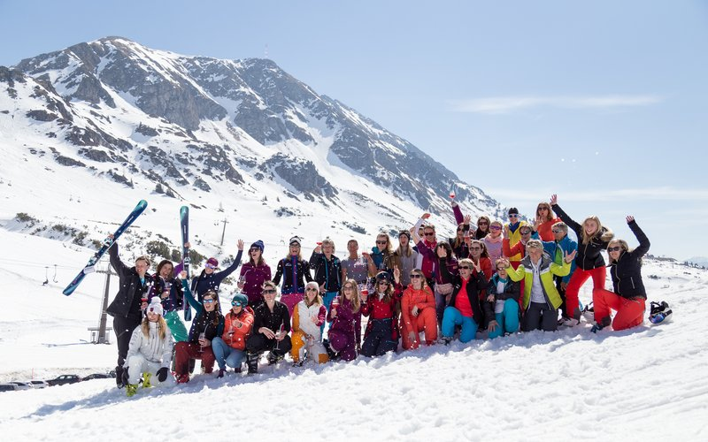 Ladies in Obertauern