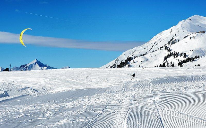 Snowbiken & Snowkiten in Obertauern
