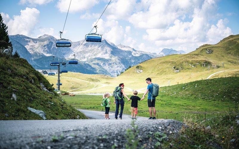 Seilbahnwandern Salzburger Land