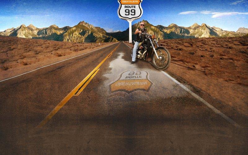 Motorrad Route 99